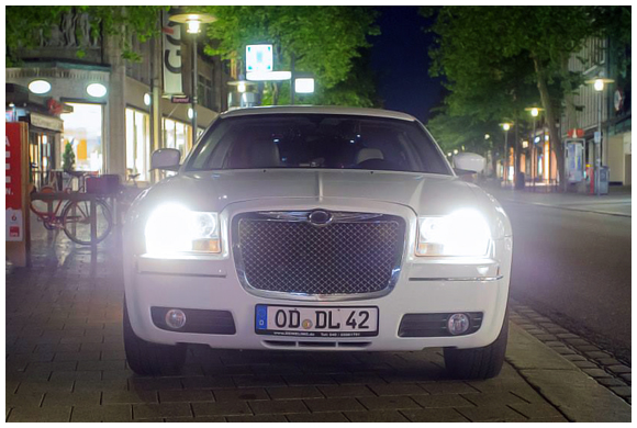 Chrysler Stretchlimo in Hamburg mieten