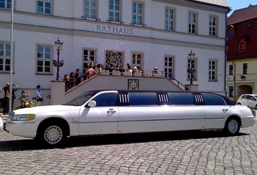 Lincoln Town Car Stretchlimo in Leipzig mieten - Limostrip.com